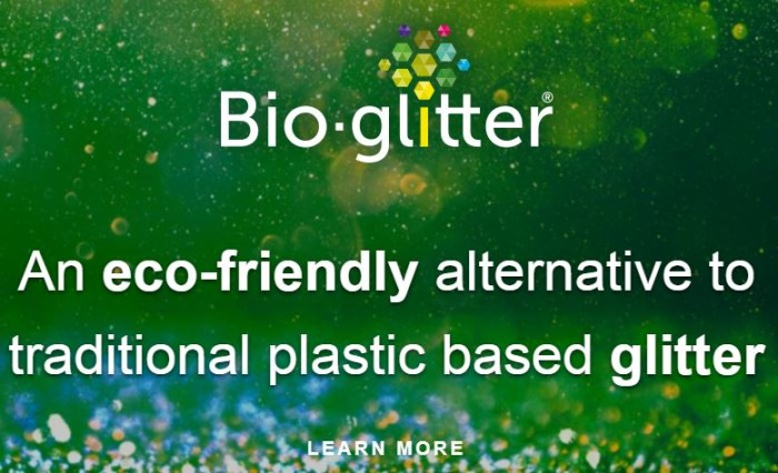 discoverbioglitter home page image